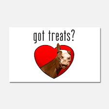 horse got treats apparel Car Magnet 20 x 12