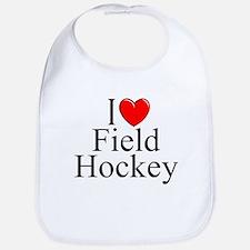 """""""I Love (Heart) Field Hockey"""" Bib"""