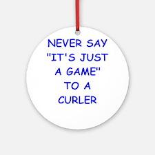 curler Ornament (Round)