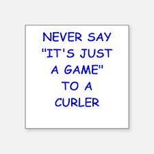 curler Sticker