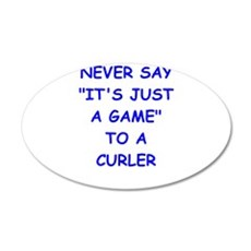 curler Wall Decal