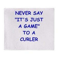 curler Throw Blanket