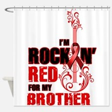 RockinRedFor Brother Shower Curtain