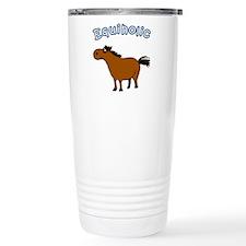 equiholic horse Travel Mug