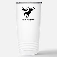 TM bucking horse t-shirt Travel Mug