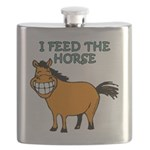 I feed the horse Flask