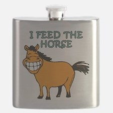 I feed the horse Flask