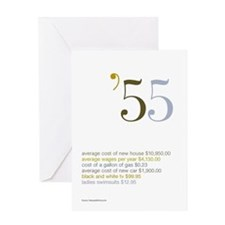 1955 Fun Facts Birthday Greeting Card