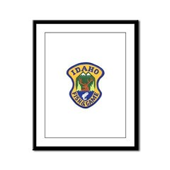 Idaho Game Warden Framed Panel Print