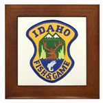 Idaho Game Warden Framed Tile