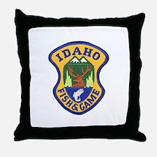 Idaho Game Warden Throw Pillow