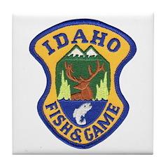 Idaho Game Warden Tile Coaster