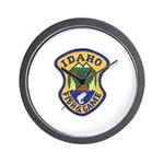 Idaho Game Warden Wall Clock