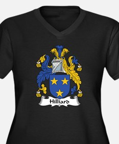 Hilliard Women's Plus Size V-Neck Dark T-Shirt