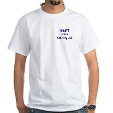 White Inmate T-Shirt