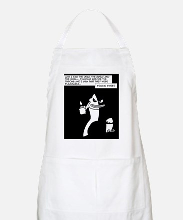 Dark Monkey Fire BBQ Apron