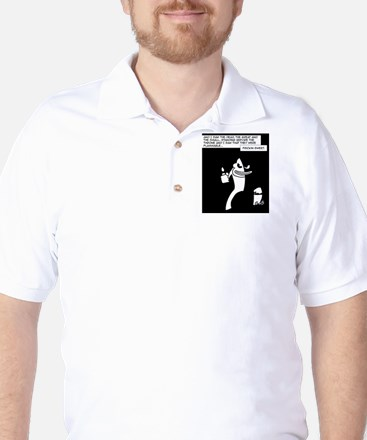 Dark Monkey Fire Golf Shirt