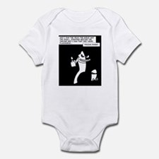 Dark Monkey Fire Infant Bodysuit