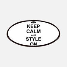 Keep Calm and Style on Patches