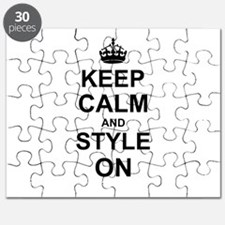 Keep Calm and Style on Puzzle