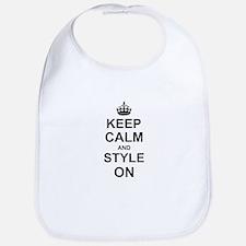 Keep Calm and Style on Bib