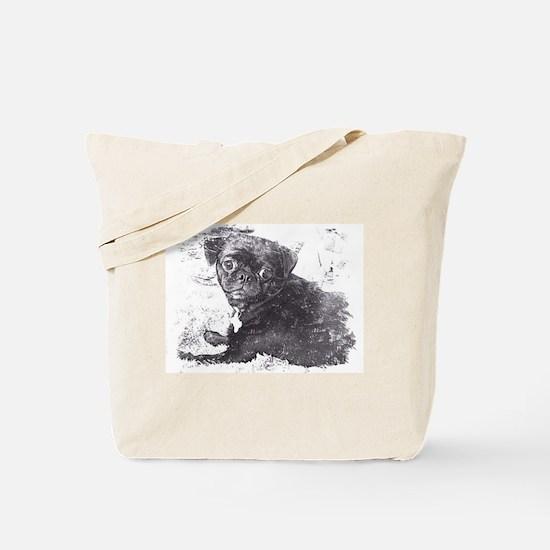 Perk sketch Tote Bag