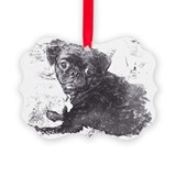 Chugs Picture Frame Ornaments