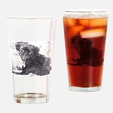 Perk sketch Drinking Glass