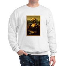 Mona Lisa Pug Sweatshirt