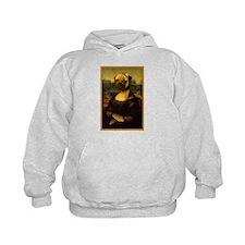 Mona Lisa Pug Hoodie