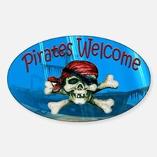 Pirates welcome Decal