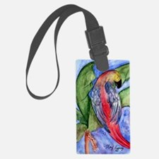 Pretty parrot Luggage Tag