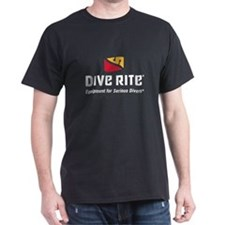 DiveRite_for_CP_dark_tees T-Shirt