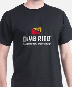 DiveRite_for_CP_dark_tees T-Shirt