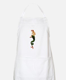 Vintage Pin Up Mermaid ~ Summer  Apron