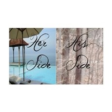 his her paradise Wall Decal