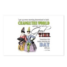 Change The World Postcards (Package Of 8) Postcard