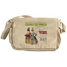 Change The World Messenger Bag