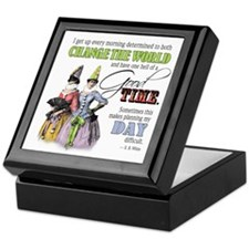 Change The World Keepsake Box
