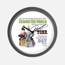 Change The World Wall Clock