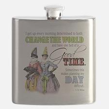 Change The World Flask