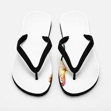 Vintage Pin Up Mermaid ~ Spring  Flip Flops