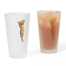 hang-on-cat-LTT.png Drinking Glass