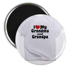 grandma and grandpa shirt Magnet