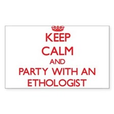 Keep Calm and Party With an Ethologist Decal