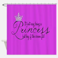 Unique Princess Shower Curtain