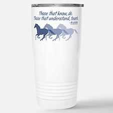horses teach cup Travel Mug