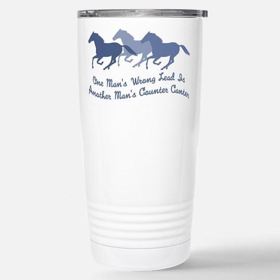horse counter canter Travel Mug