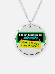 Change Of Underware/Woody Allen Necklace