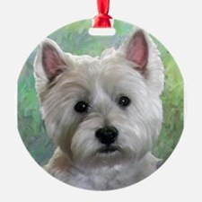 PORTRAIT OF A WESTIE Ornament